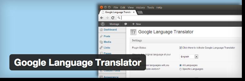 AUTOMATISCHE Maschinen-Übersetzungen: Google Language Translator