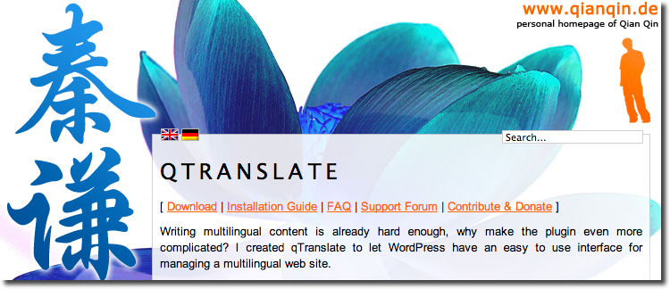 qTranslate WordPress Plugin