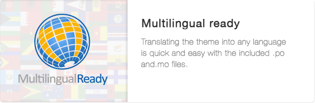 Multilingual Ready WordPress Theme