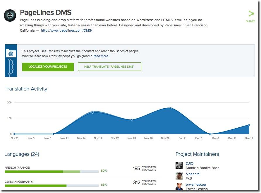 PageLines DMS Translation