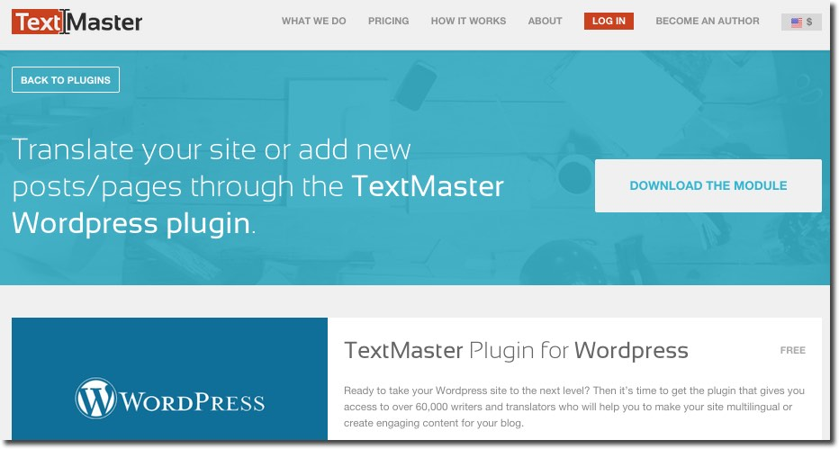 TextMaster WordPress Translation Services