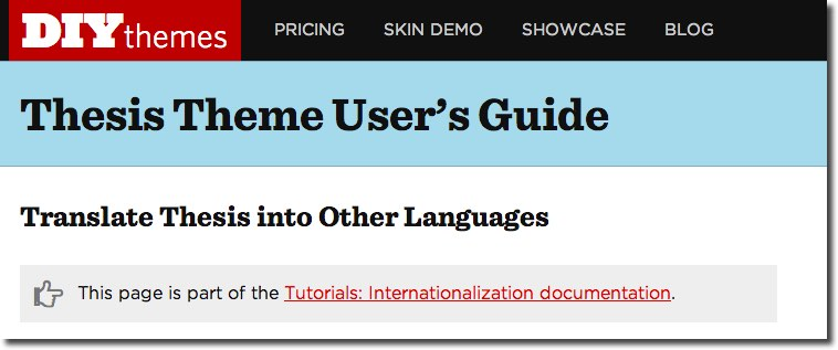 a guide to choosing a multilingual wordpress theme rh wplang org Sample Thesis Format Sample Thesis Format