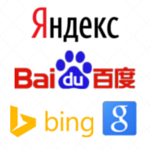 Add multilingual website search engines