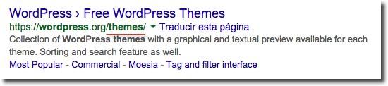 Slugs SERPs search engines