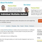 Translate author biography WordPress - Featured Image