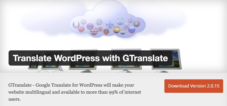 Translate WordPress with GTranslate — WordPress Plugins