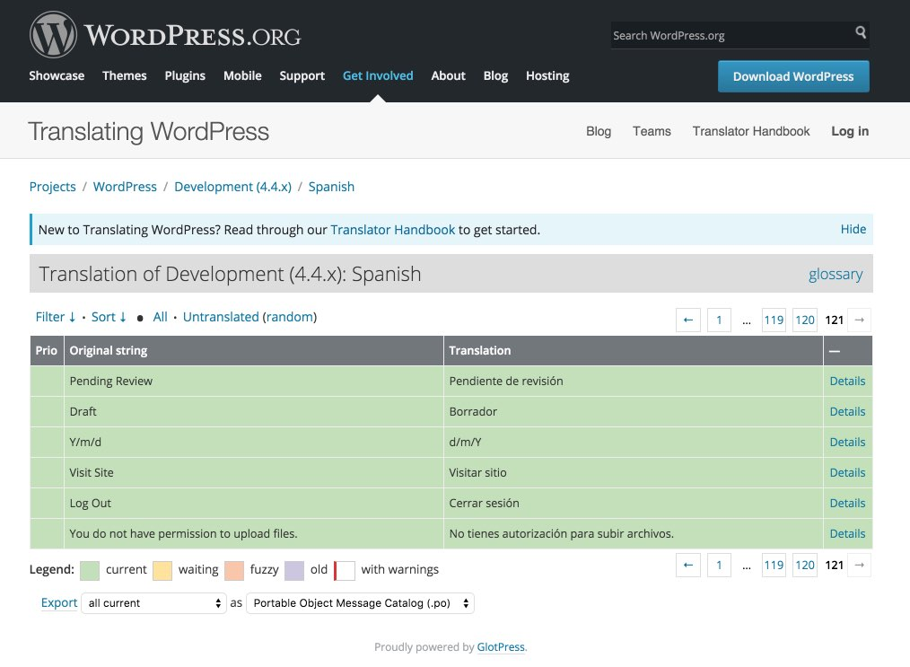 WordPress Translations - GlotPress